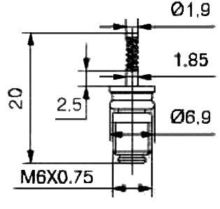 Air Conditioning Valve Core MC532