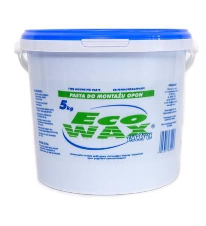 """""""ECO-WAX extra"""" pasta montażowa do opon 5kg niebieska"""