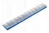 Ciężarek klejony stalowy płaski OCYNK (12x5g)